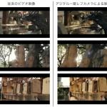 今までのビデオとデジタル一眼レフカメラの比較映像