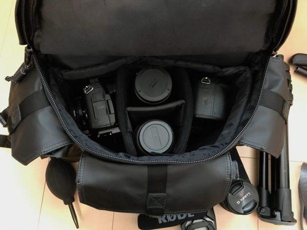 Alpha Pro Camera Bag内容
