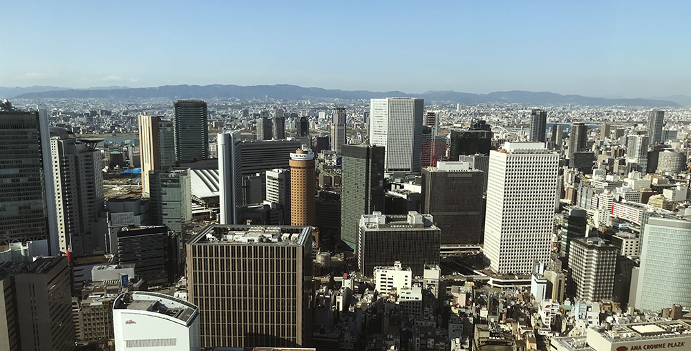 梅田からの眺め
