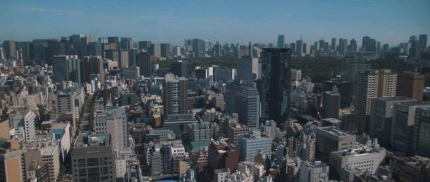 東京ドームホテル 窓辺から