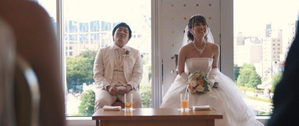東京ドームホテル ご親族控室にて