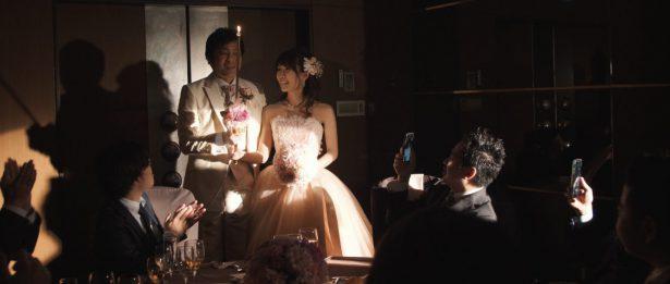 東京ドームホテル キャンドルサービス